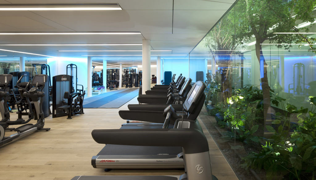 Conservatorium hotel Akasha spa gym
