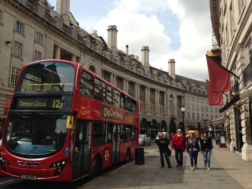 Dubbeldekker-Londen