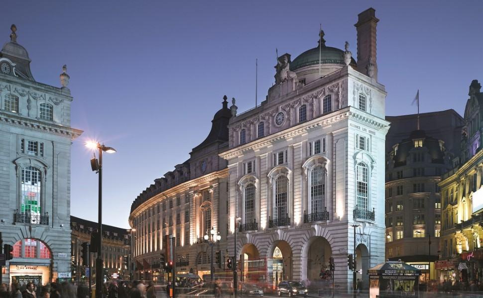 Cafe Royal hotel, London, Travel Rumors, Historic Entrance