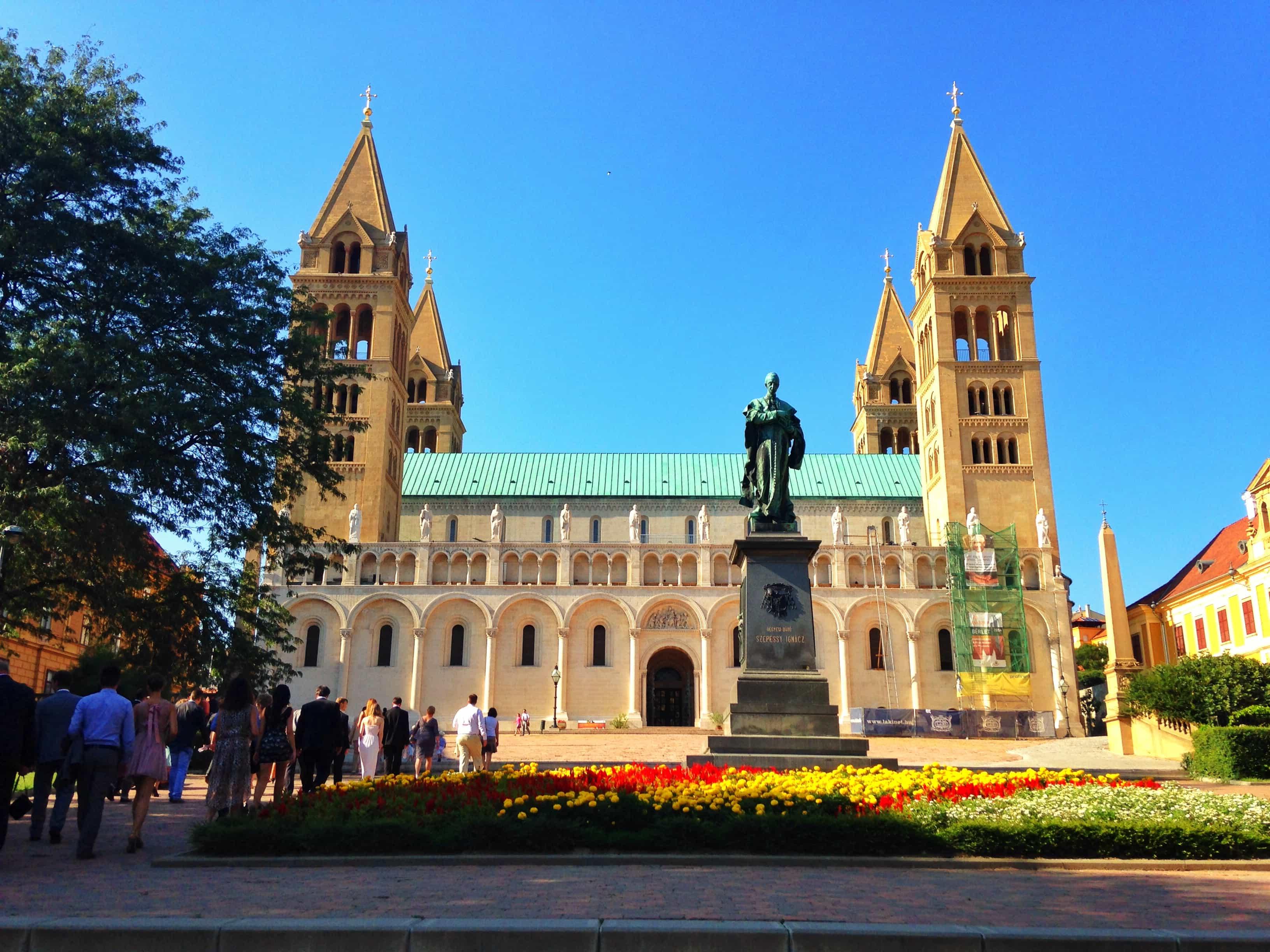 24 uur in Pécs, Hongarije