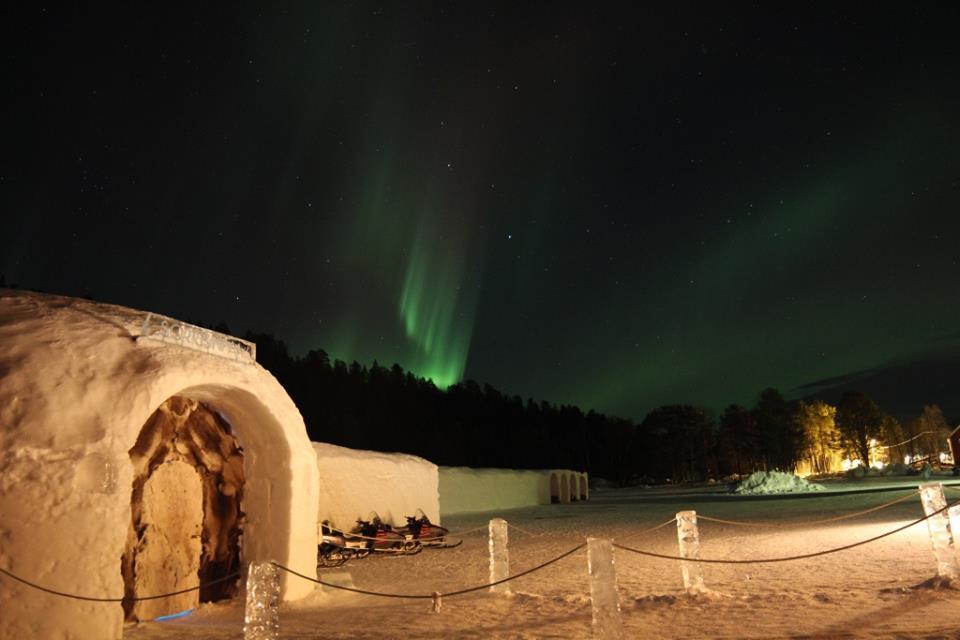 Sorrisnova Igloo Hotel, Noorwegen, hotel Noorwegen, ijshotel, winter, iglo, iglo hotel