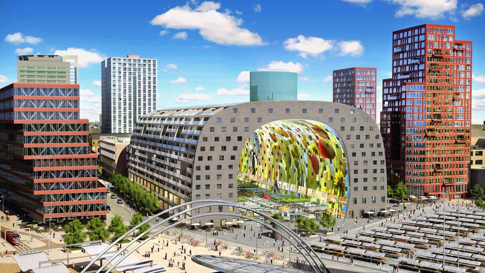 De Markthal In Rotterdam Travel Rumors