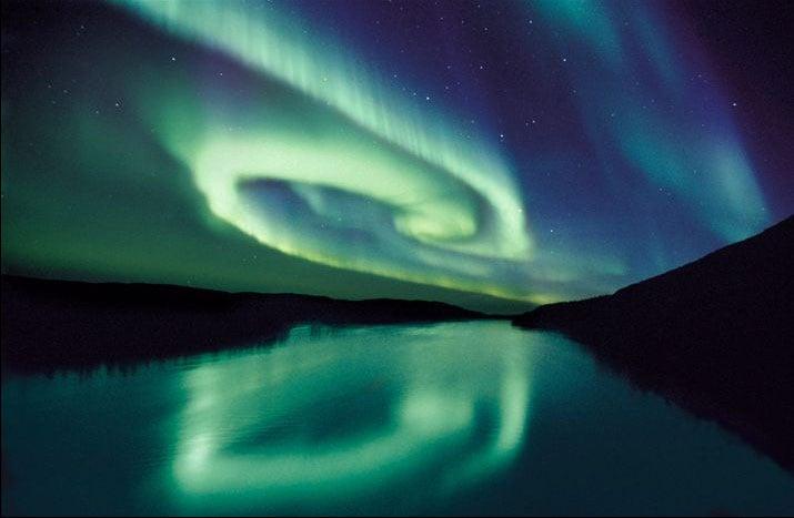 noorderlicht, winter, Noorwegen, licht noorwegen