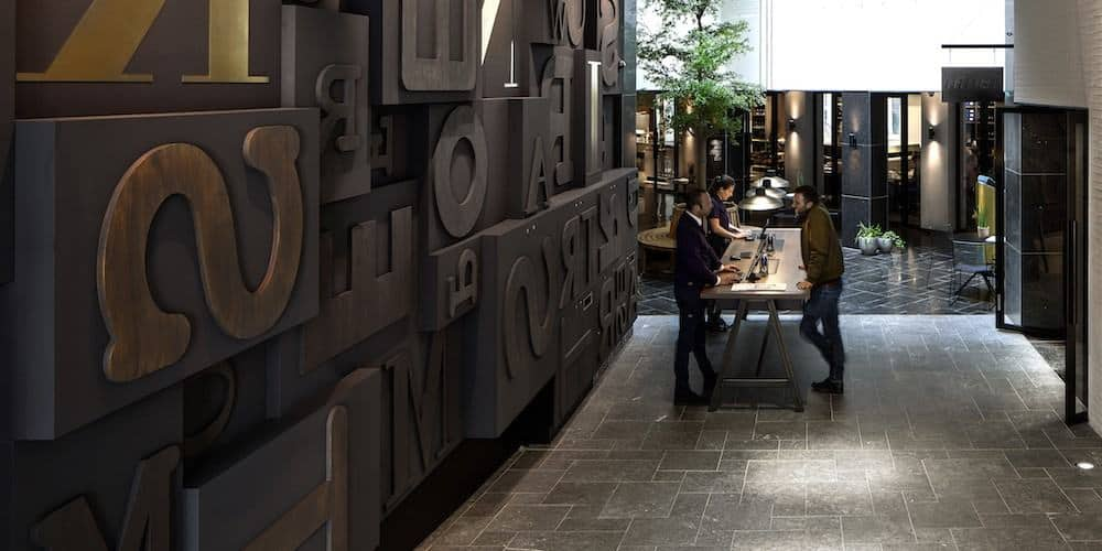 Ink hotel amsterdam a boutique hotel for Design boutique hotels amsterdam