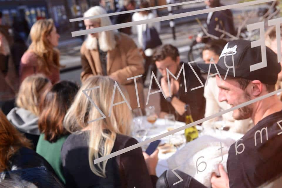 Restaurant bar en koffiesalon razmataz in amsterdam - Eigentijds leven ...