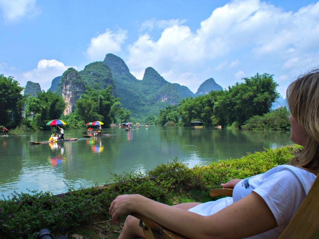 China rijstterrassen, China karstbergen, China, Zuidwest-China, Guilin China, Li-rivier China, Yangshuo China, riviercruise van Guilin naar Yangshuo, riviercruise Guilin, riviercruise Yangshuo, hotel Yangshuo, fietsen Yangshuo, fietsen huren Yangshuo, varen Yangshuo, boot tocht Yangshuo, karstgebergte China, Moon Hill China, Li- en Yulongrivier, Li- en Yulongrivier lichtshow, Ping'an China, authentiek China, Dragon's Bone China, rijstterrassen China, Long Ji rijstterrassen, Dragon's Bone rijstterrassen, Long Ji China, China online, Travel Rumors, Riksja Travel