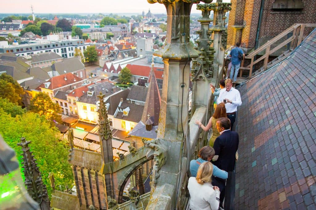 Den Bosch By Night Climb the St. Johns Cathedral
