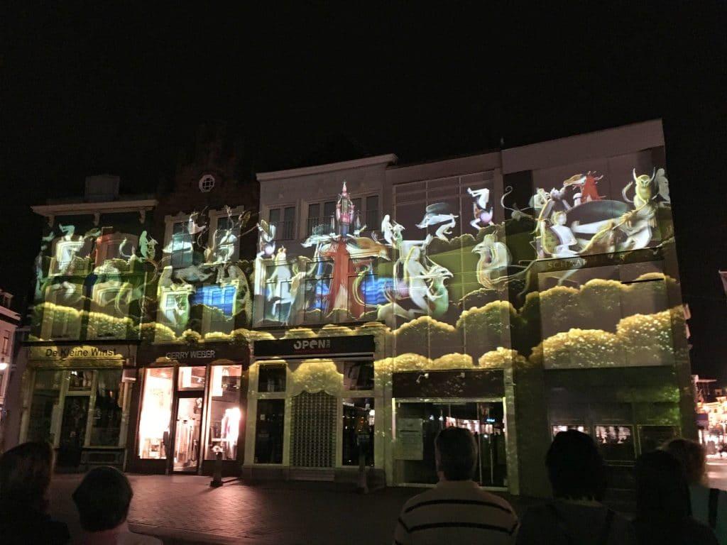 Den Bosch By Night Lightshow