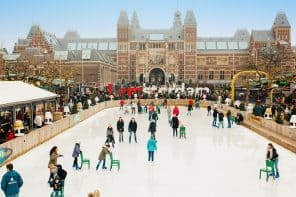Ice Amsterdam Museum Square