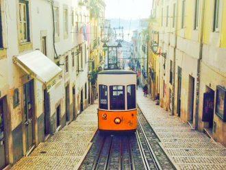 City guide Lissabon, Portugal