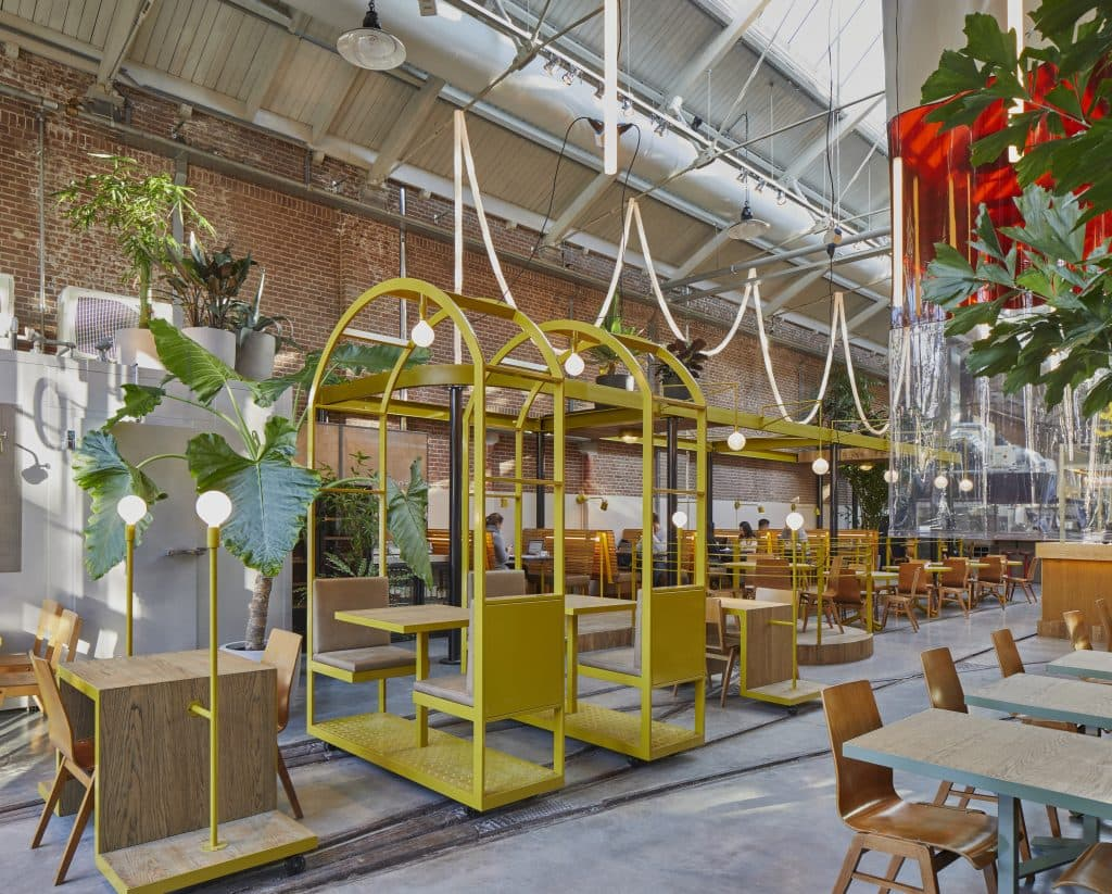 restaurant Kanarie Club Amsterdam