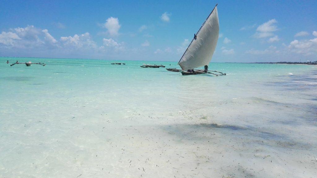 Paje Zanzibar Kitesurfing beach