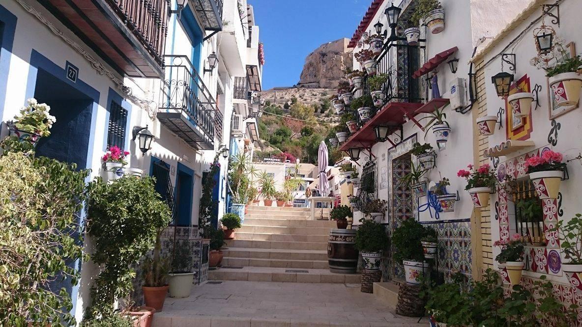 Barrio de Santa Cruz, Alicante in Spanje