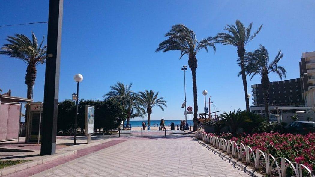 Het strand van Alicante, Playa del Postiguet