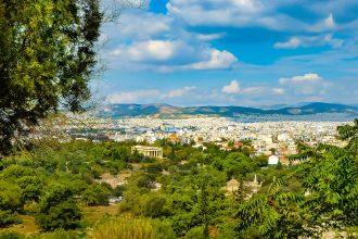 Uitzicht Athene