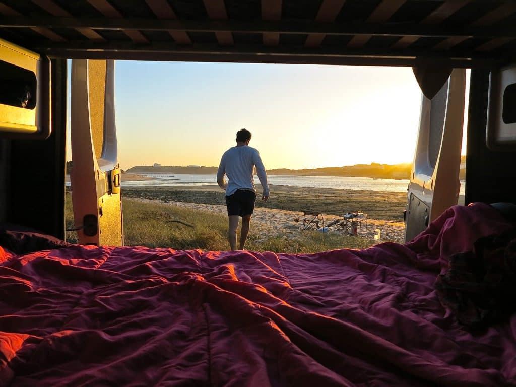 Beach camping, Vila Nova de Milfontes