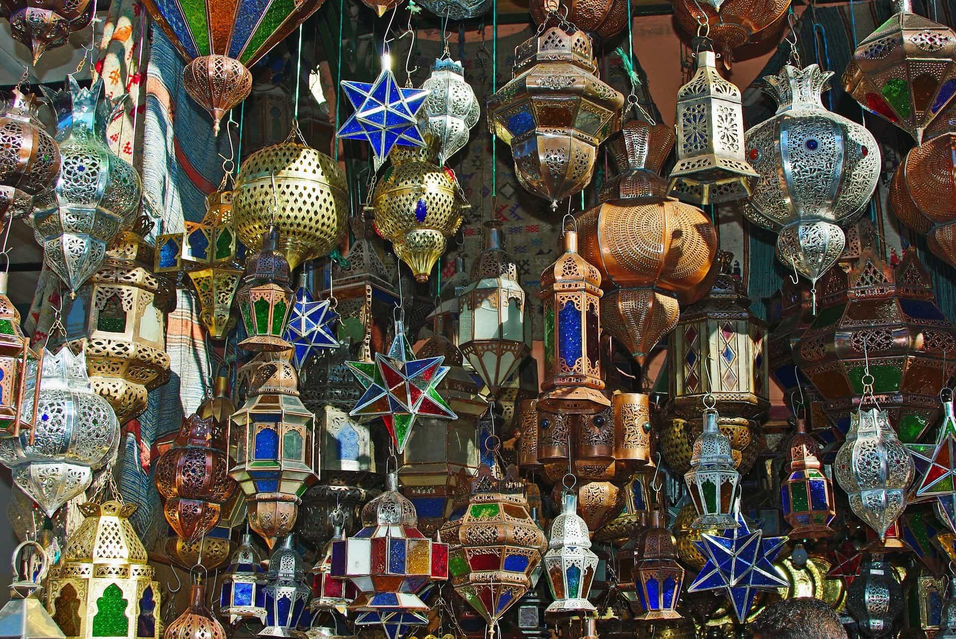 Marrakech-shoppen