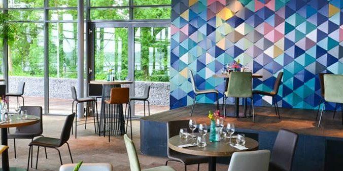 restaurant the boathouse aan de kralingse plas in Rotterdam