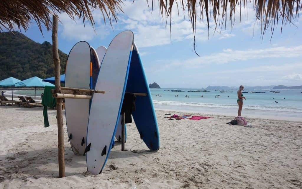 stranden lombok kuta
