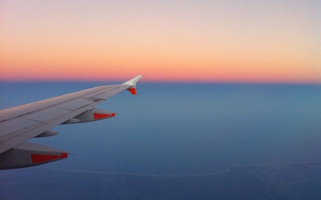 Vertraging met het vliegtuig