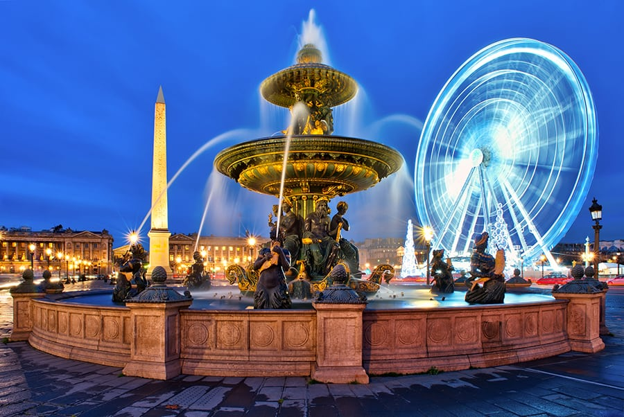 Kerst in Parijs kerstmarkten