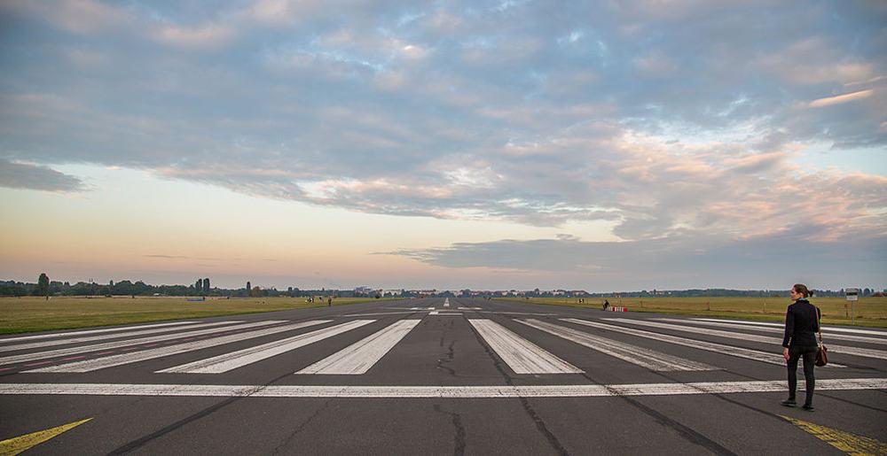 Hardlopen op reis - Berlijn Tempelhof