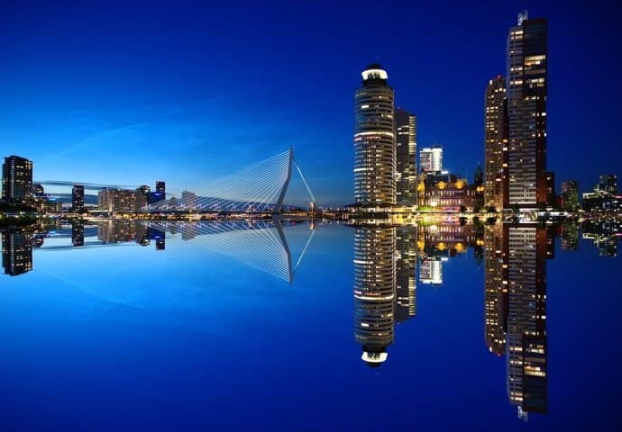 city guide Rotterdam - skyline