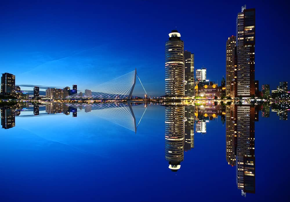 city guide Rotterdam - skyline