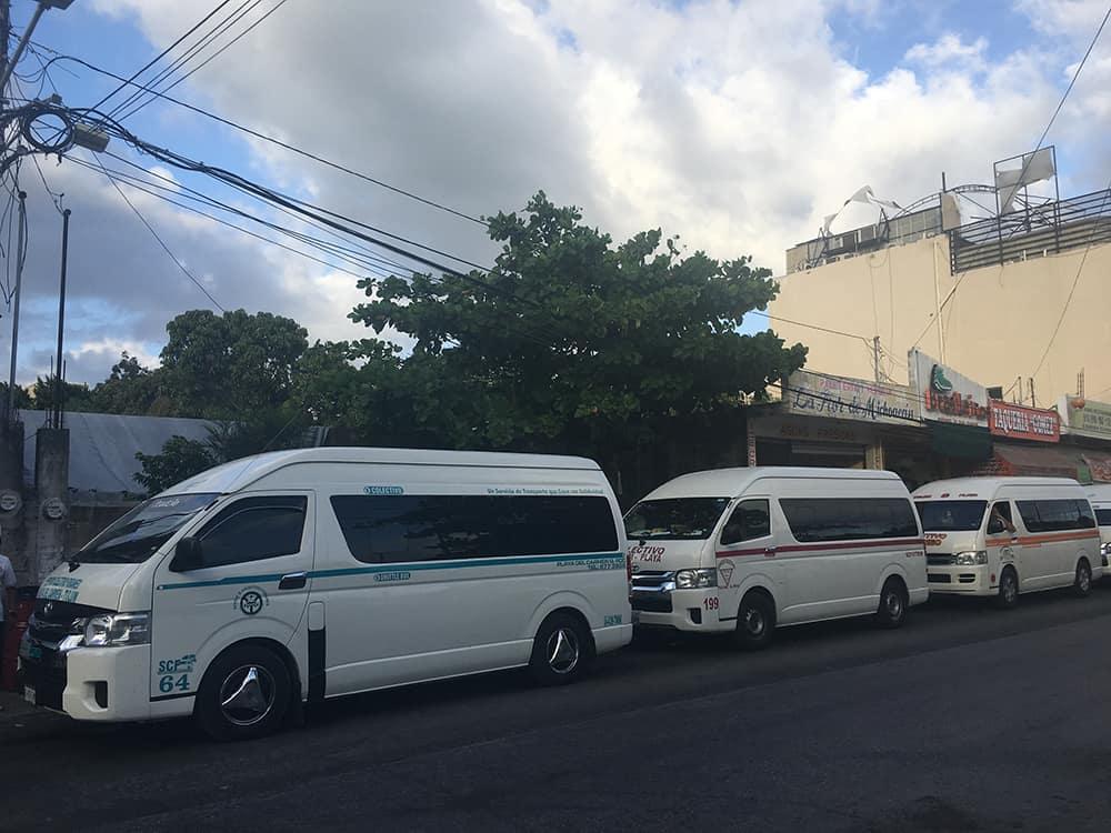 Colectivo bus Mexico