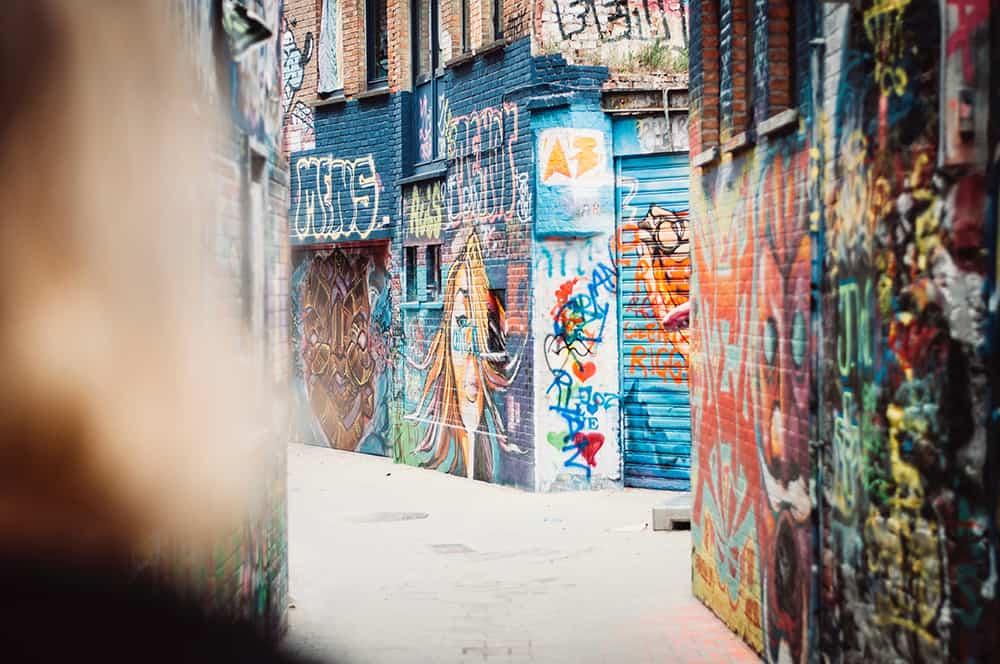 Bezienswaardigheden Gent - streetart Werregarenstraatje