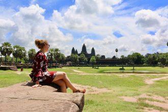 Reisroute door Cambodja - Angkor Wat 1