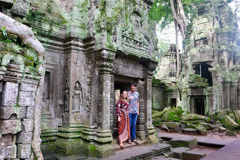 Reisroute door Cambodja - Angkor Wat 2