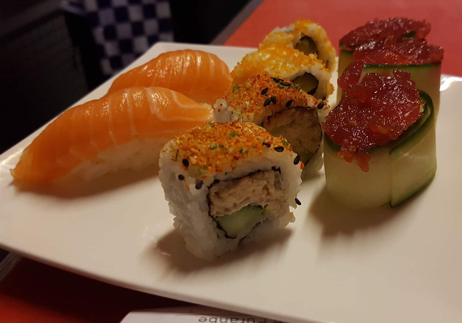 sushi aanbieding tilburg