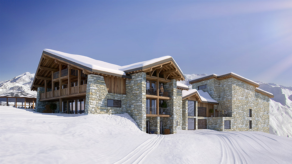 Luxe wintersport accommodatie