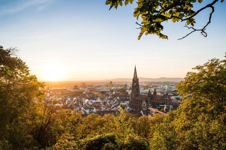 Freiburg-bezienswaardigheden in Zwarte-Woud