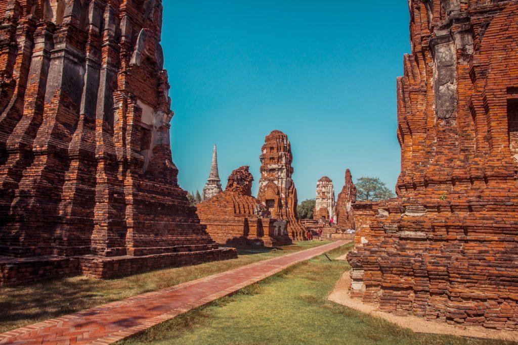 tempels-Ayutthaya-thailand