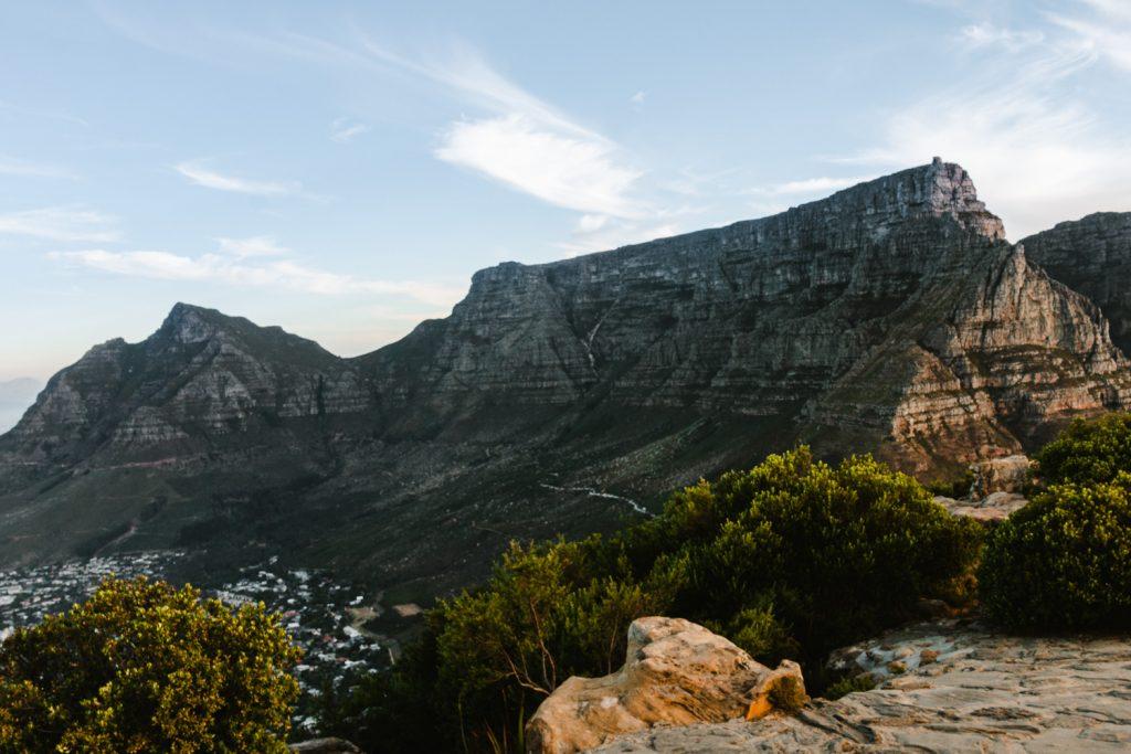Zuid-Afrika-Kaapstad-Tafelberg